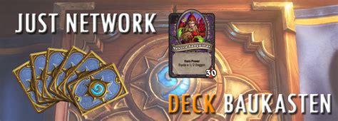 schurken deck hearthstone justblizzard schurken deck baukasten