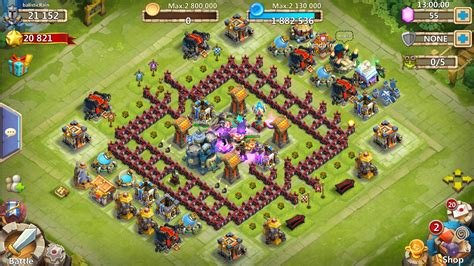 download game castle clash mod apk data donwload castle clash v1 3 3 mod apk obb unlimited money