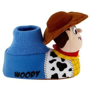 woody slippers disney toddler boy s story woody slipper multi
