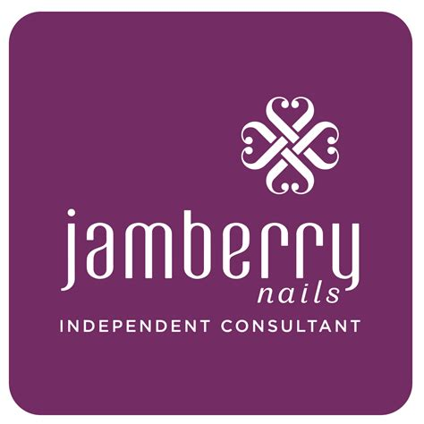 jamberry logo purple independent consultant coaster