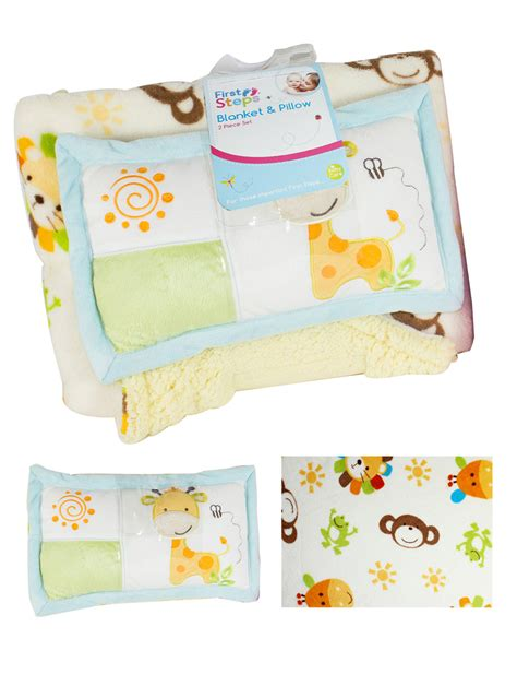 Crib Age steps soft sherpa blanket pillow soft toddler crib basket buggy age 2
