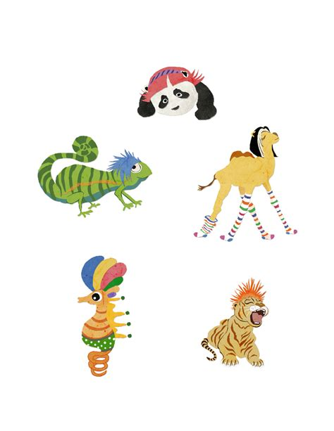Animal Character 04 semin chun animal characters