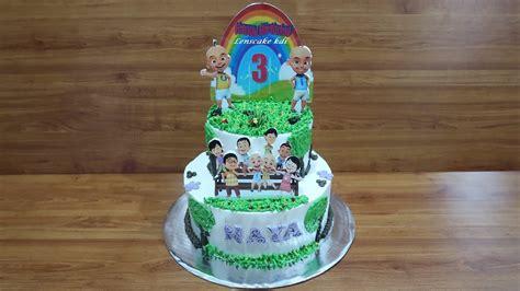 membuat kue upin ipin cara membuat menghias kue ulang tahun tart cake upin ipin