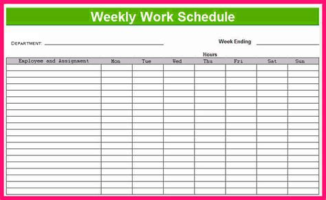 Excel Template Calendar Planner
