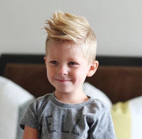 fine hair and boys cool haistyles for little boys with light mohawk style