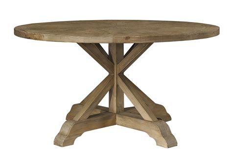 Padma S Plantation Salvaged Wood 60 Inch Round Dining