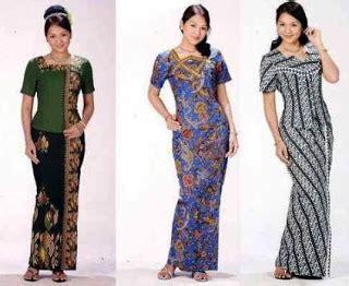 Setelan Blouse Trendy 4 18 koleksi baju batik setelan wanita model terbaru