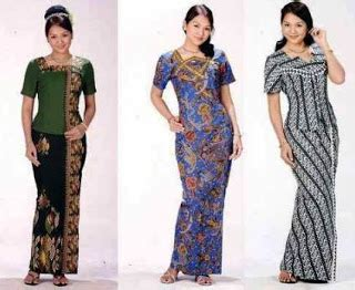 Blouse Batik Serasi Fashion 1 18 koleksi baju batik setelan wanita model terbaru