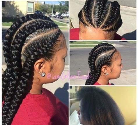 instagram african american hairstles instagram post by glamfreak iamglamfreak cornrows