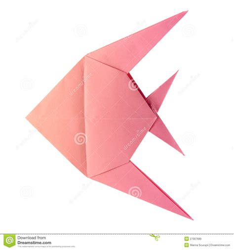 Origami Tropical Fish - origami tropical fish royalty free stock images image