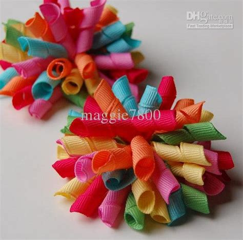 How To Make Handmade Hair Bows - wholesale korker bows rainbow hair bows handmade