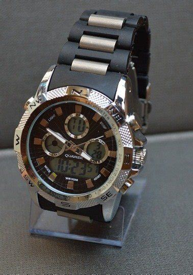 Jam Tangan Edif Dual Time 01 4 jam tangan pria dual time import branded terlaris