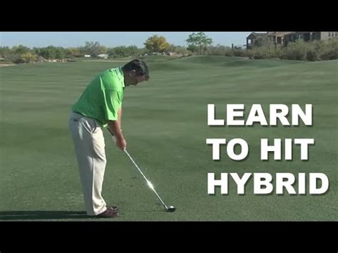 how to swing a hybrid golf club how to swing a golf club how to hit long irons funnydog tv