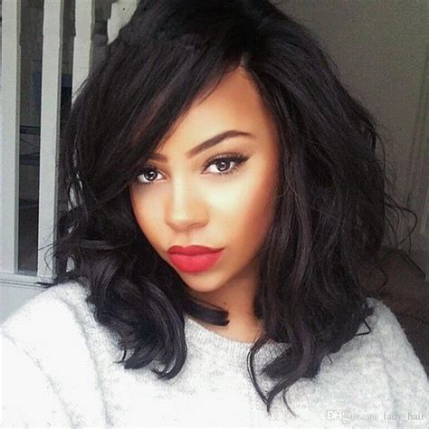 hair styles with brazlilian body wave with bobs brazilian human hair short bob wigs body wave wavy lace