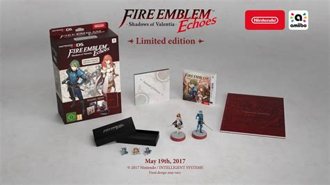 Nintendo Switch Emblem Warriors Special Edition Eu europe also getting emblem echoes shadows of