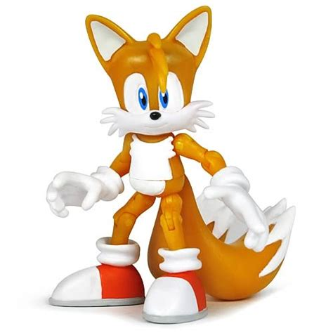 Figure Sonic sonic the hedgehog 3 3 4 inch tails figure jazwares sonic the hedgehog