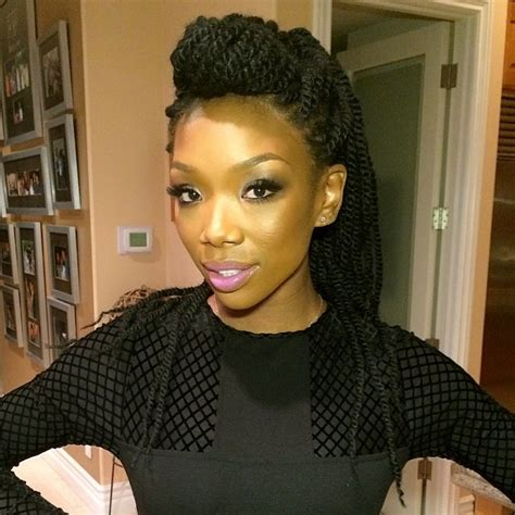 brandy old hair style photos brandy marley twists braids