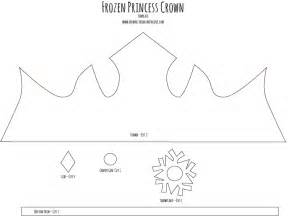 princess crown tutorial frozen inspired crafts unleashed