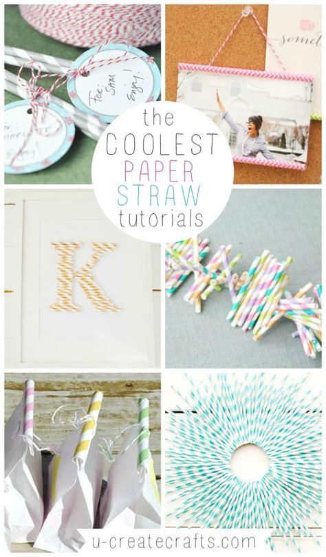 Paper Straw Craft Ideas - 17 best images about craft ideas on crafts