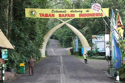 Taman Safari Indonesia Dinas Pariwisata dan Kebudayaan