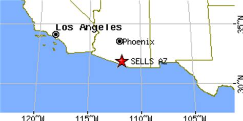 sells arizona map sells arizona az population data races housing
