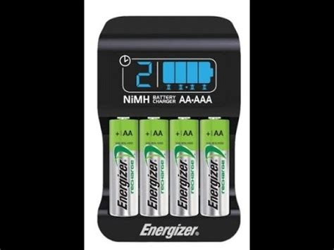 smart charger aa energizer chp42us battery smart charger