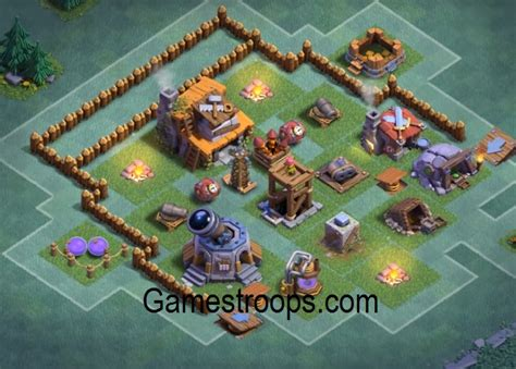 layout coc level 3 clash of clans builder hall 3 base builder hall 3 coc