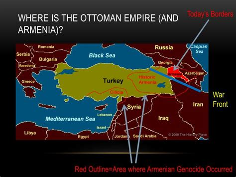 what is the ottoman empire today ppt armenian genocide powerpoint presentation id 1872673