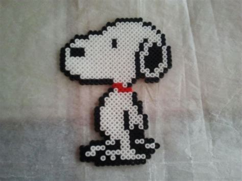snoopy hama pin by dina dankers on snoopy