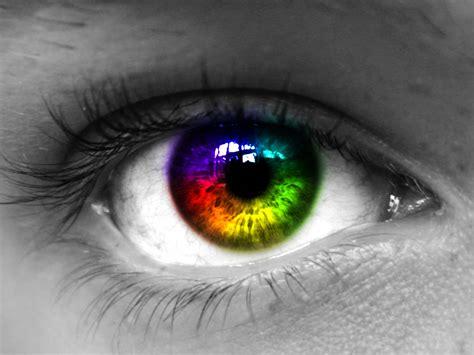 rainbow eye search rainbow aesthetics