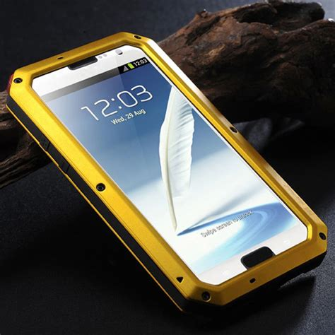 Silikon Geeks Note3 weather dirt shockproof gorilla glass for sumsung