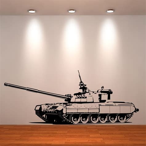 Thomas And Friends Bedroom tank army boys bedroom wall art stickers decals murals