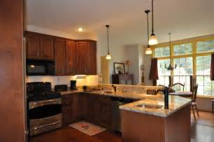 L Shaped Kitchen Layouts With Island peninsula remodel traditional kitchen boston by