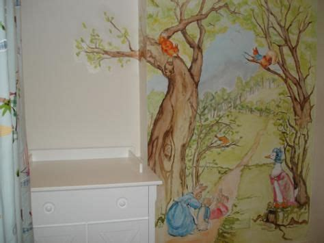 beatrix potter mural stickers peter rabbit decal peter