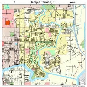 temple map temple terrace florida map 1271400