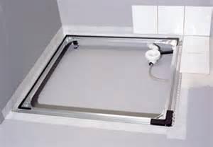 flache dusche einbauen ikz haustechnik