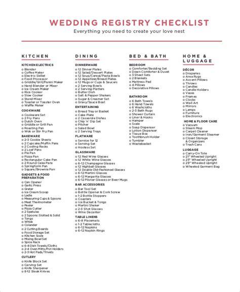 sample wedding checklist  examples