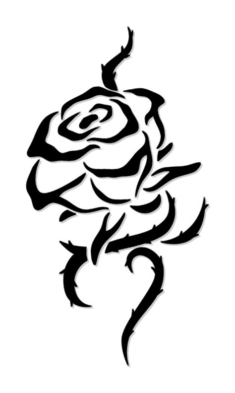 tribal rose tattoo designs 26 beautiful tribal tattoos only tribal
