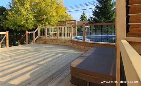 cloture pour patio patio brunelle patios et cl 244 tures beaulieu