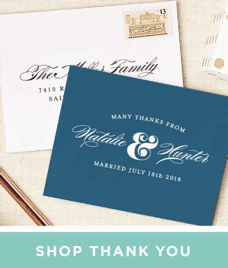 Thank You Cards Notes Match Your Color Styl And Sle Thank
