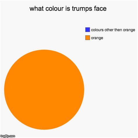 what colour is orange what colour is trumps imgflip