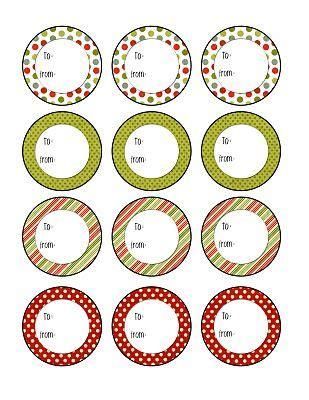 printable tags with holes christmas tags free printable yay or i can use this to