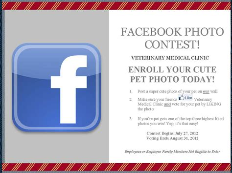 Facebook Giveaway Picture - facebook pet photo contest veterinary medical clinic ta florida
