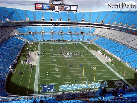 section 1a section 530 row 1a seats 6 carolina panthers for sale at