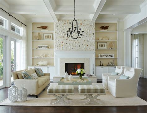 beach style living rooms coastal living beach style living room miami by
