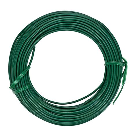 Gardening Wire by Vigoro 50 Ft Heavy Duty Coated Wire T025bvg The Home Depot