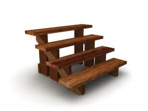 Wooden Stair Steps by 3d Model Wooden Steps