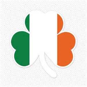 irish bumper stickers irish flag sticker sticker genius
