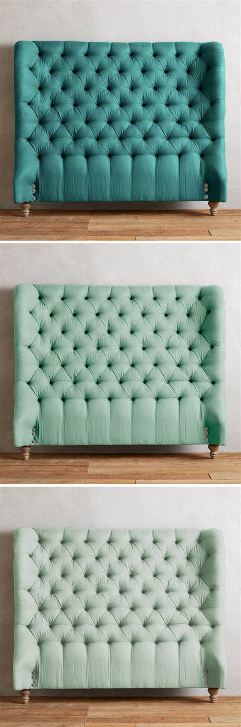 turquoise tufted headboard linen tufted wingback headboard everything turquoise