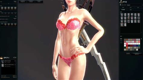 Zahira Set Inner Black vindictus season 2 vella customization all inner armor and preset preview mode 1080p hd